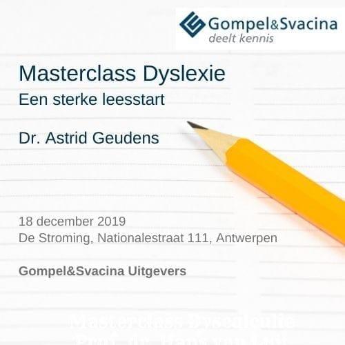 Masterclass Astrid Geudens